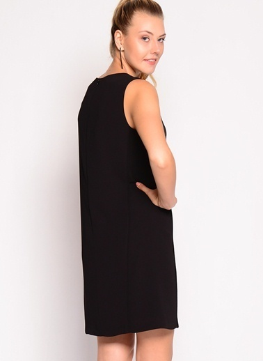Limon Company Kolsuz Düz Elbise Siyah